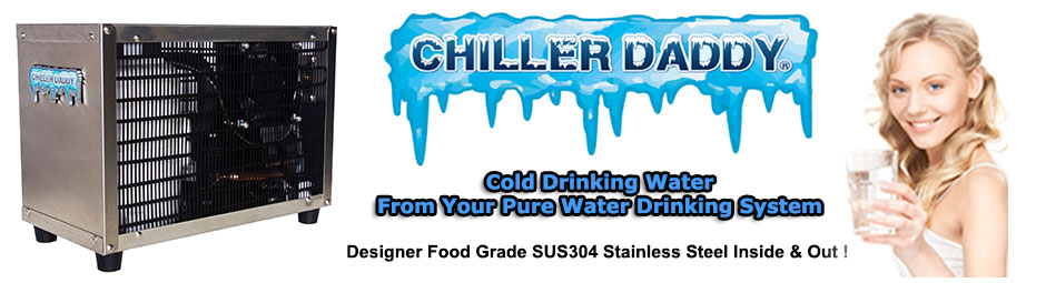 Chiller Daddy CHL-501 Undersink Drinking Water Chiller - Drink Chilled Drinking Water